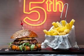 hamburguesa la 5 con madison